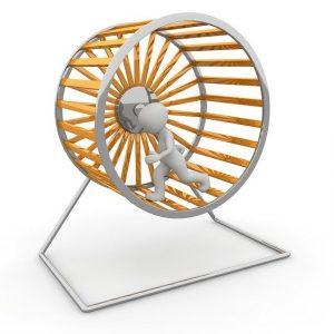 Beruflich kürzertreten - dem Hamsterrad entkommen